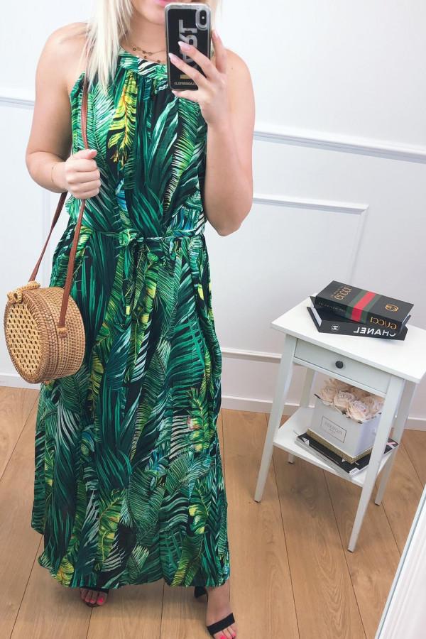 Sukienka LIŚCIE Miss Sara Maxi 3
