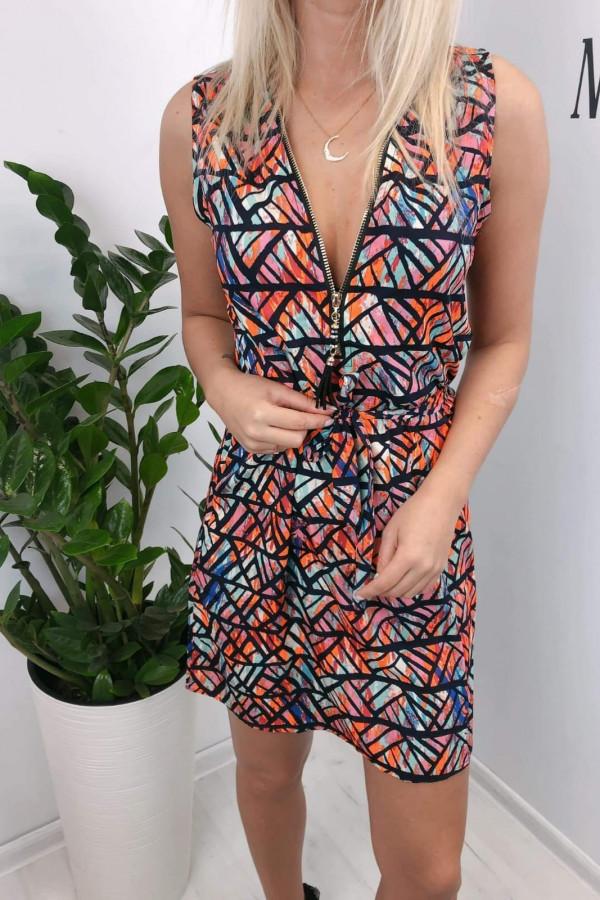 Sukienka MOZAIKA Miss Sara Zip 2