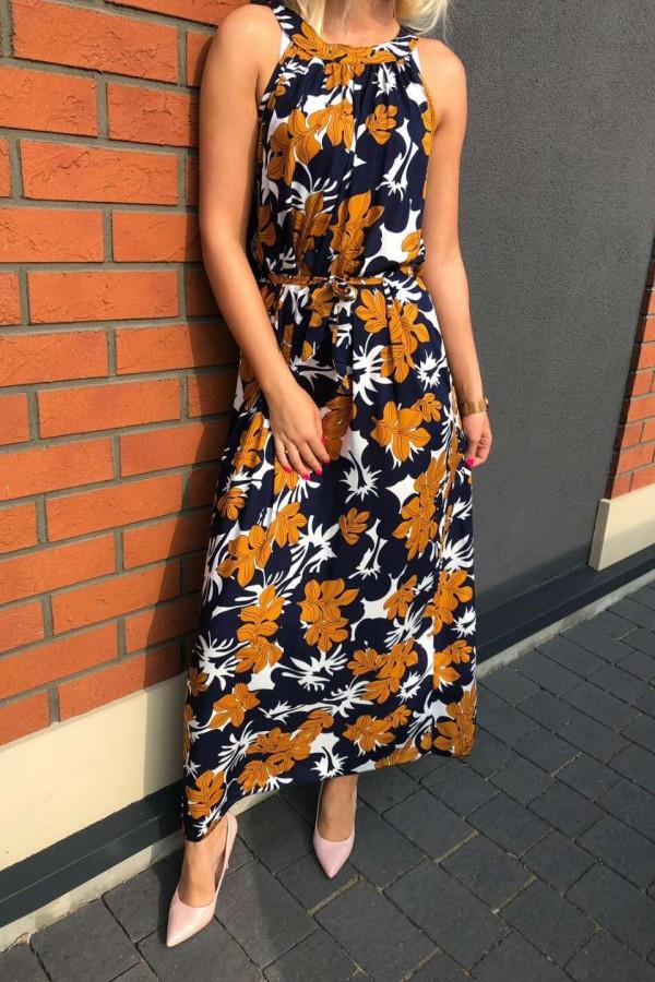 Sukienka KLON Miss Sara Maxi