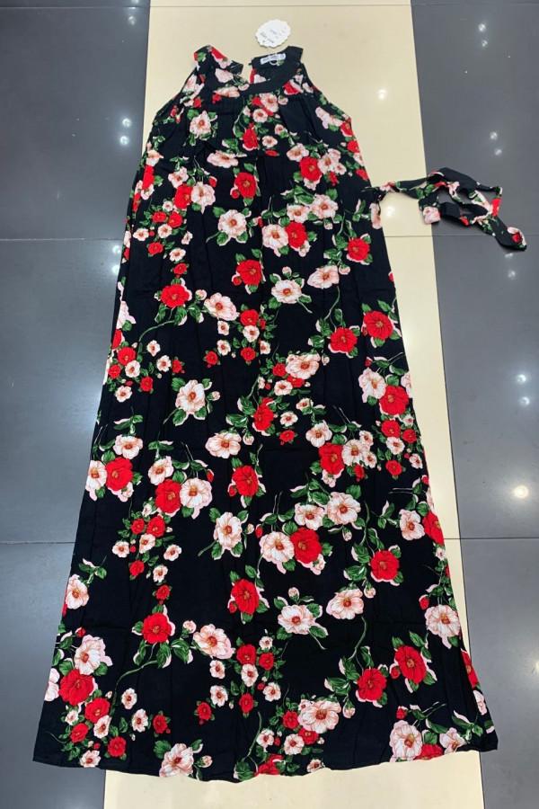 Sukienka LILAC Miss Sara Maxi 4