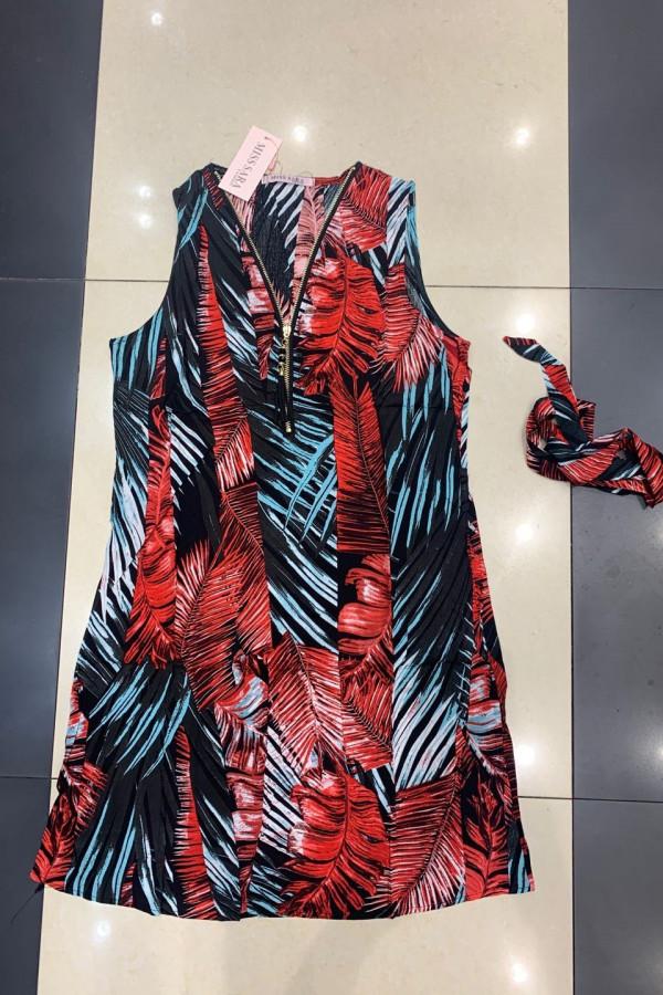 Sukienka INDONEZJA Miss Sara Zip 1
