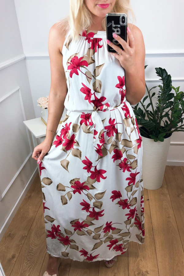 Sukienka WHITE FIELD Miss Sara Maxi