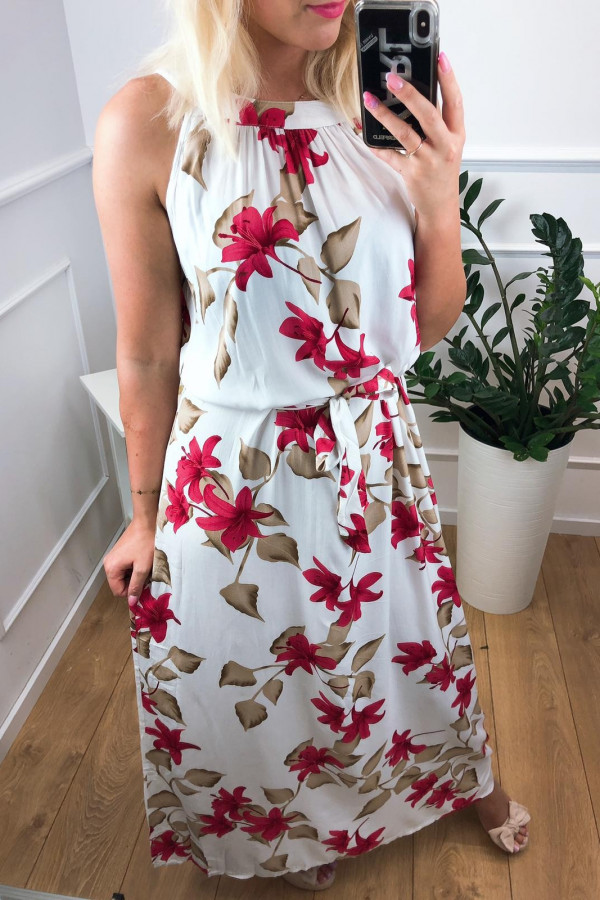 Sukienka WHITE FIELD Miss Sara Maxi 1