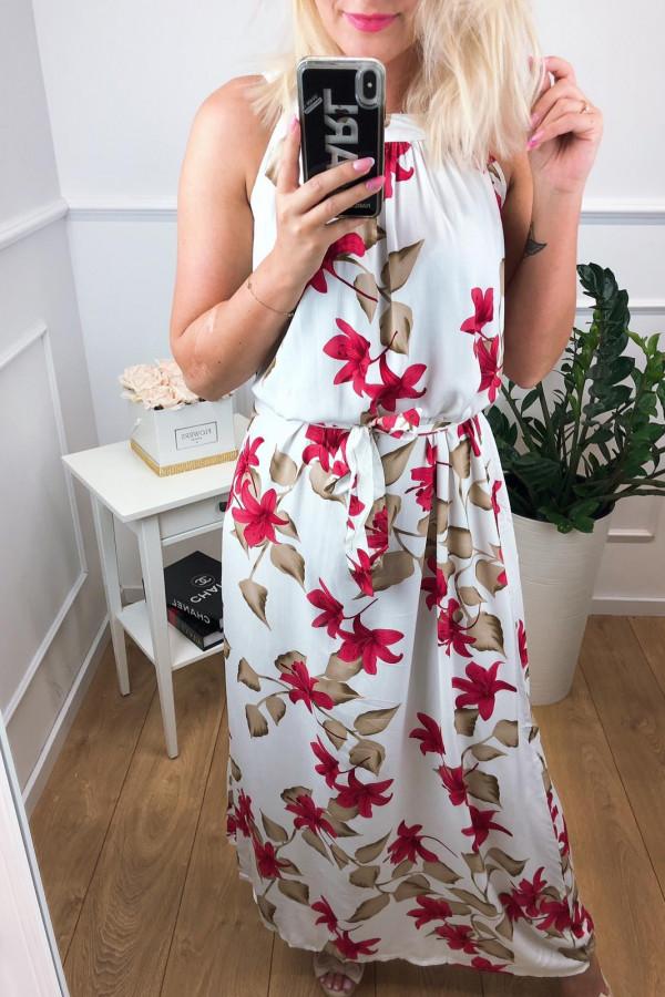 Sukienka WHITE FIELD Miss Sara Maxi 2