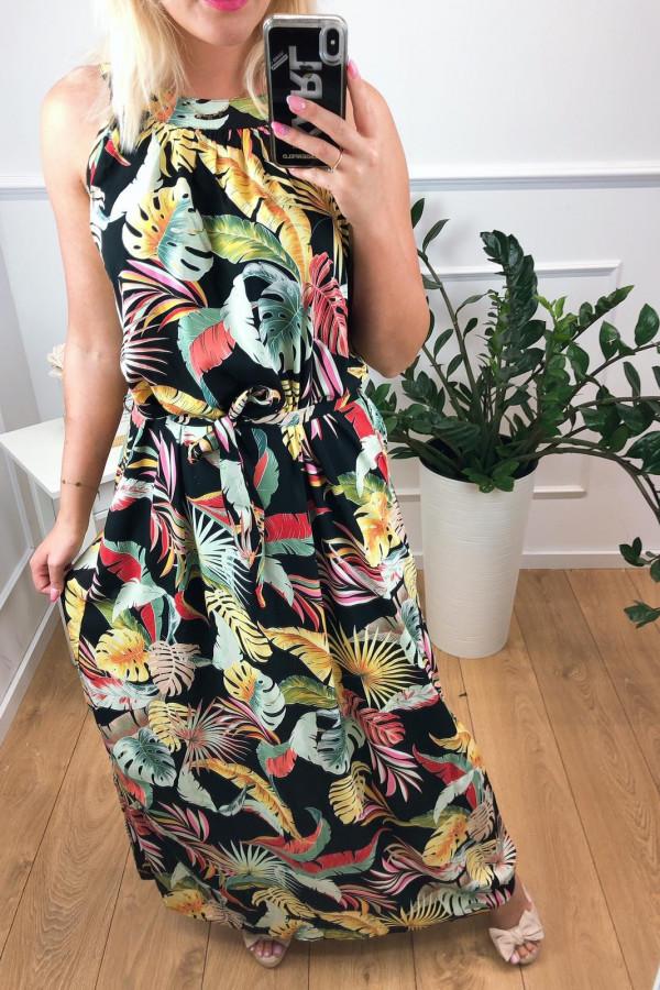Sukienka MULTICOLOR Miss Sara Maxi 1