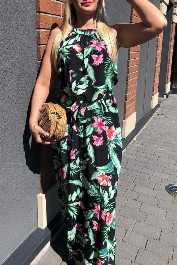 Sukienka ŁĄKA Miss Sara Maxi 2