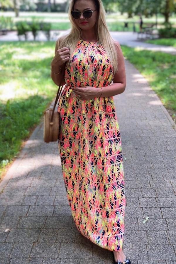Sukienka MOZAIKA Miss Sara Maxi