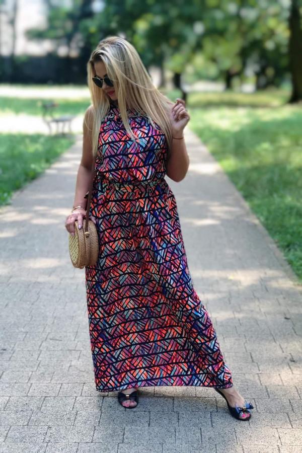 Sukienka MOZAIKA Miss Sara Maxi 6