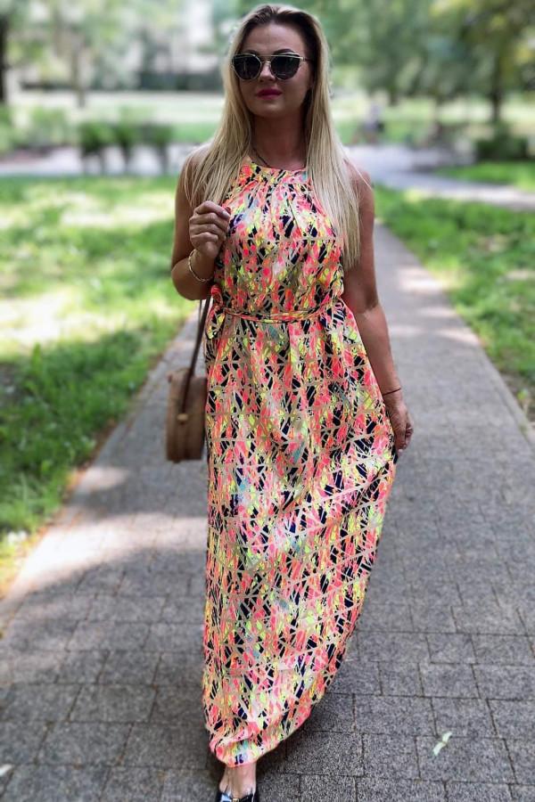 Sukienka MOZAIKA Miss Sara Maxi 8