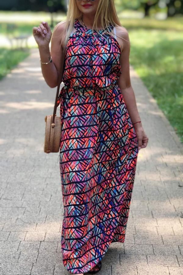 Sukienka MOZAIKA Miss Sara Maxi 7