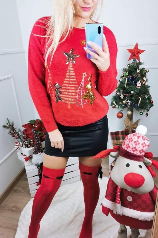 Sweter CHRISTMAS TREES