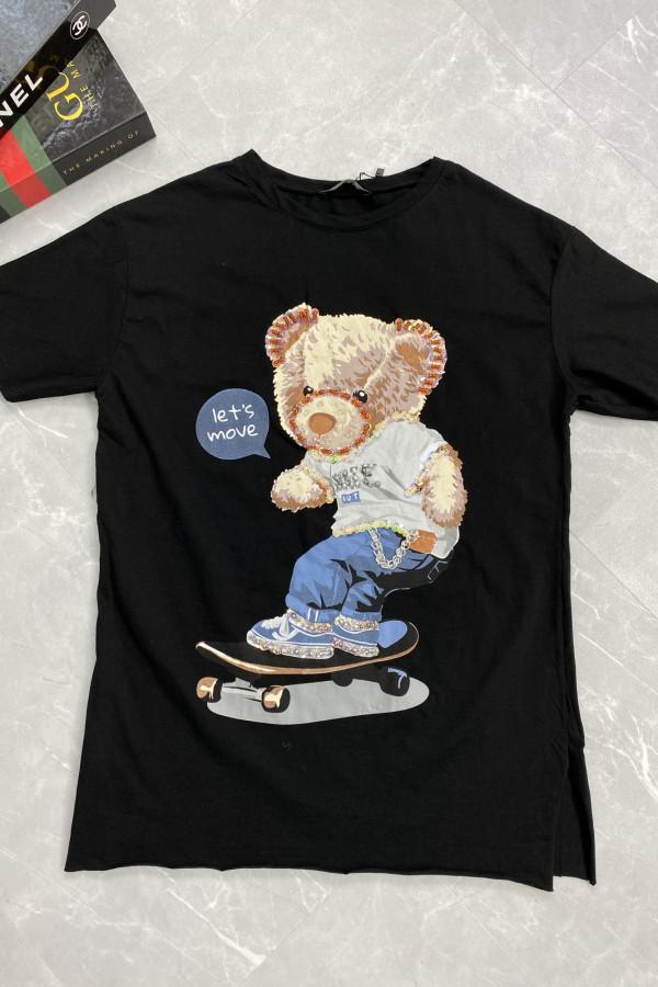 Tshirt LETS MOVE MIŚ 3