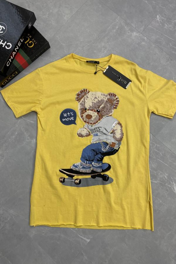Tshirt LETS MOVE MIŚ 5