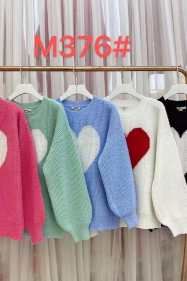 Sweter LOVE HEART