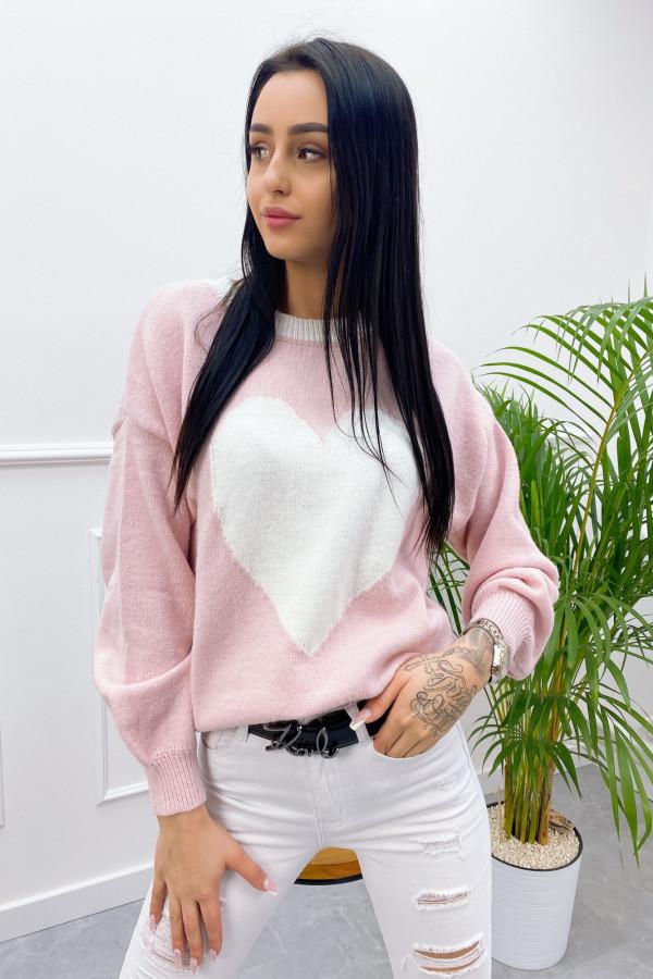 Sweter SERCE