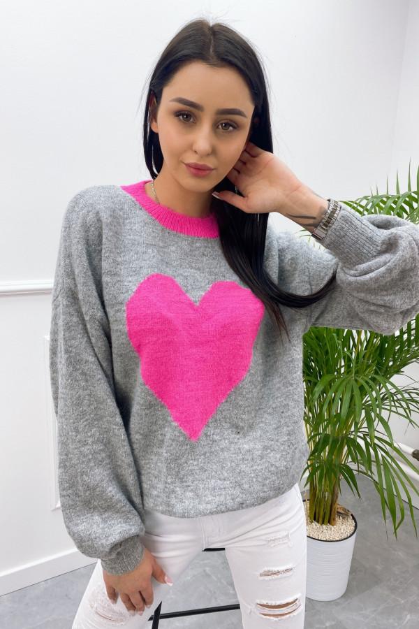 Sweter SERCE 8