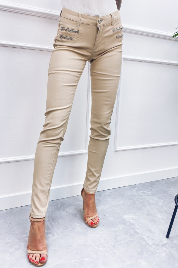 Spodnie woskowane CRAZY LOVER