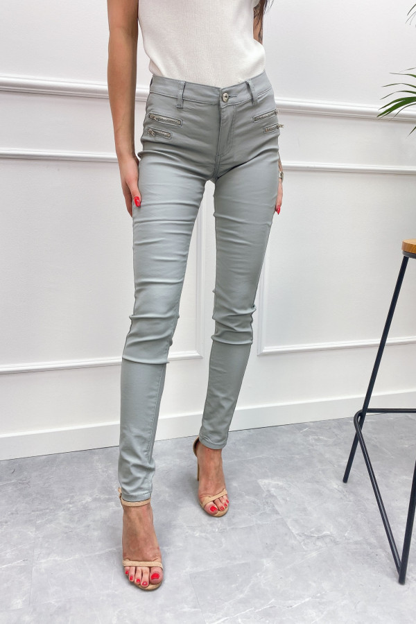 Spodnie woskowane CRAZY LOVER 1
