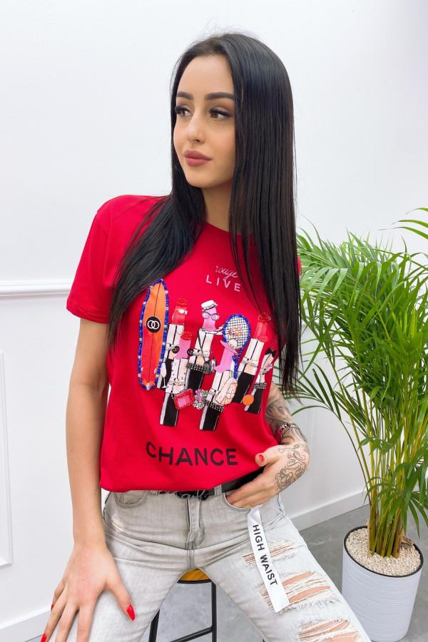 Tshirt CHANCE 8