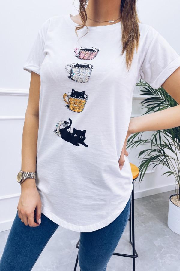 Tshirt COFFE CAT