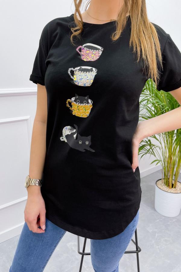 Tshirt COFFE CAT 6