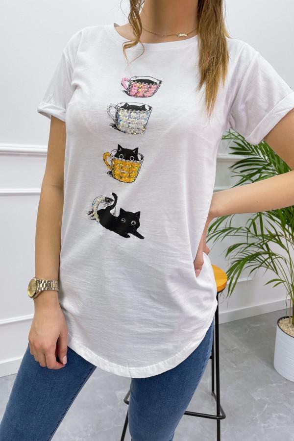 Tshirt COFFE CAT 7
