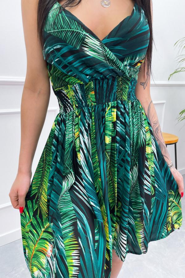 Sukienka LIŚCIE Miss Sara Short 1