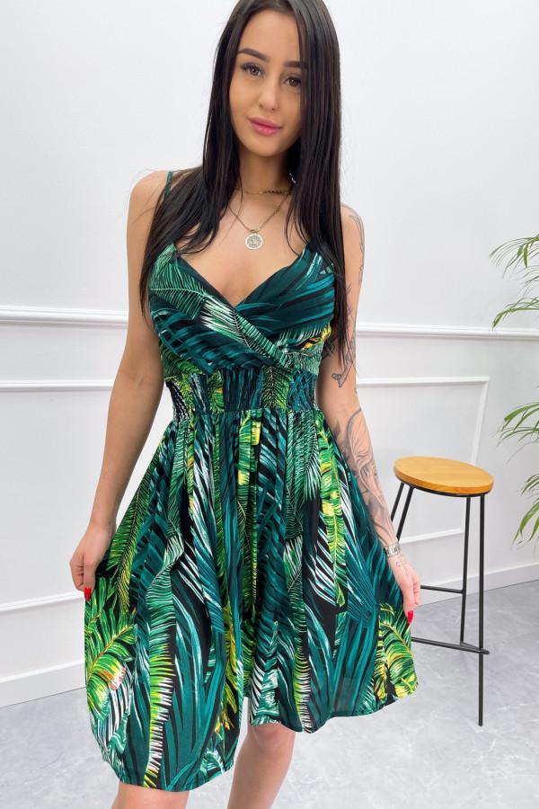 Sukienka LIŚCIE Miss Sara Short 2