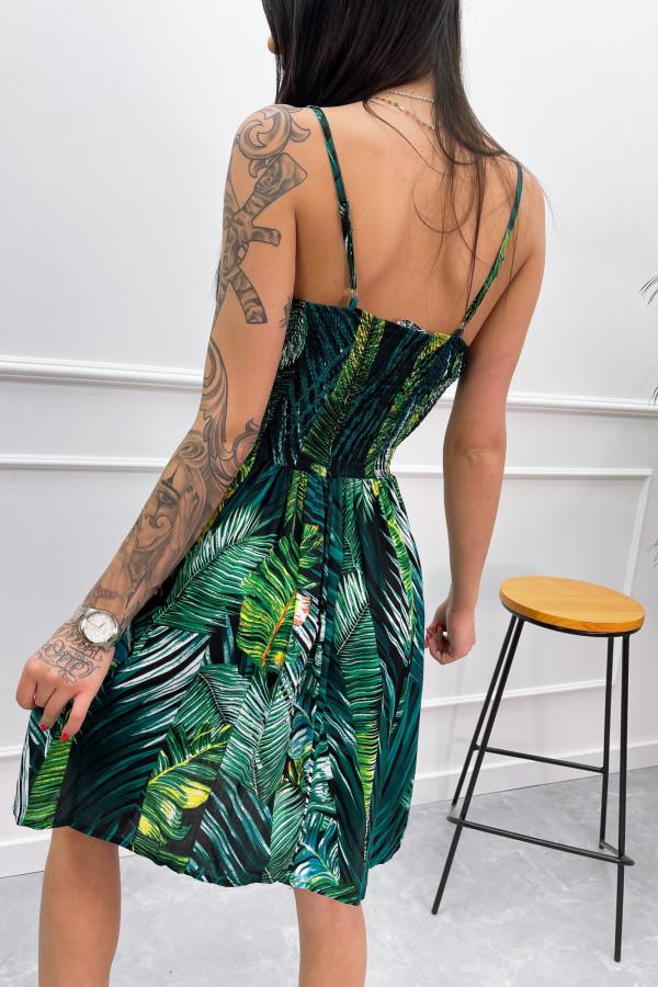 Sukienka LIŚCIE Miss Sara Short 3