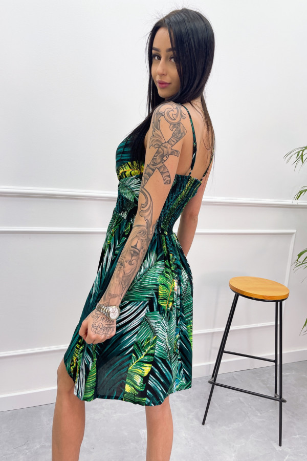 Sukienka LIŚCIE Miss Sara Short 4