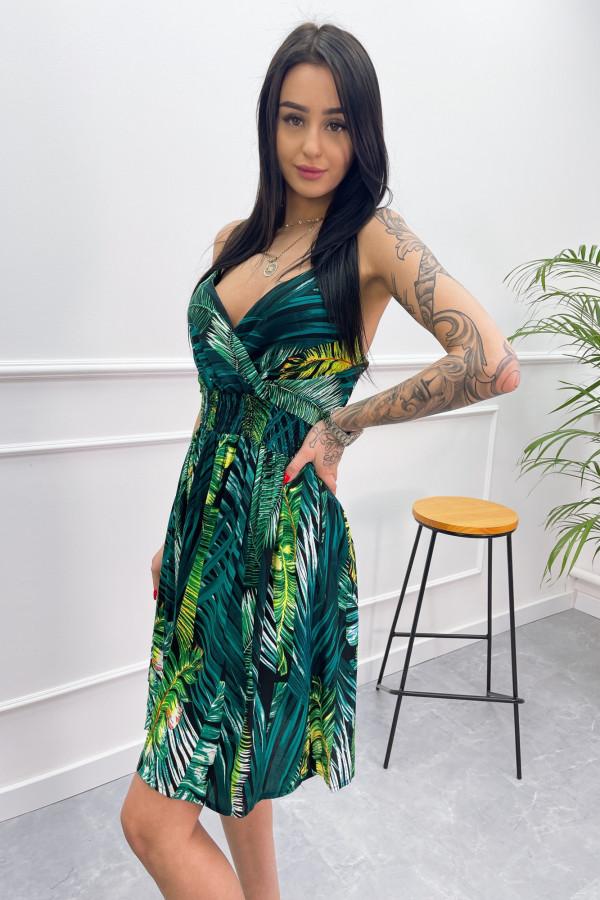 Sukienka LIŚCIE Miss Sara Short 7