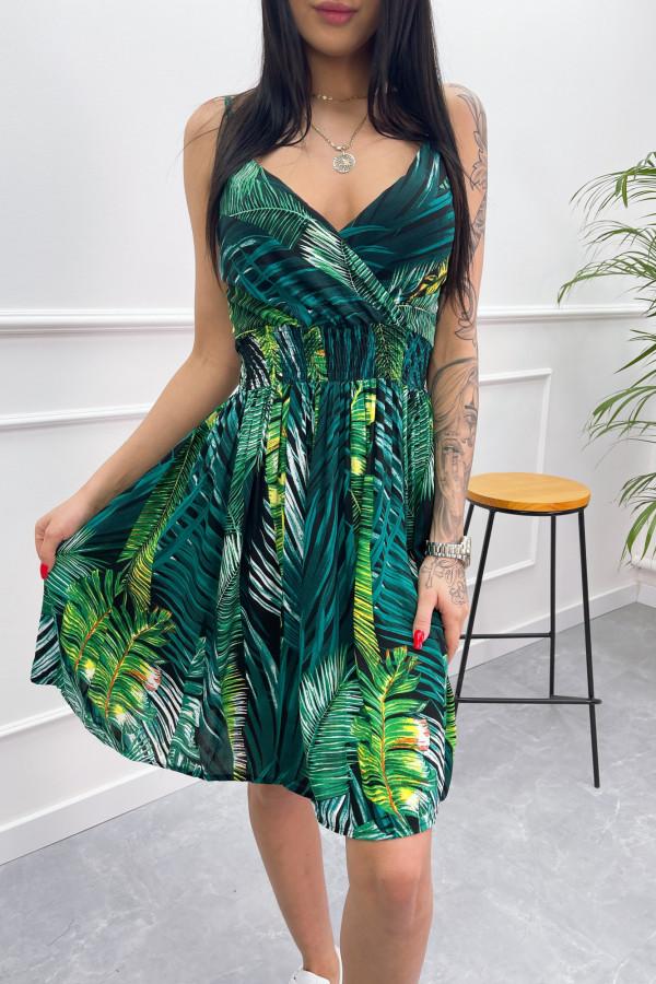 Sukienka LIŚCIE Miss Sara Short 8