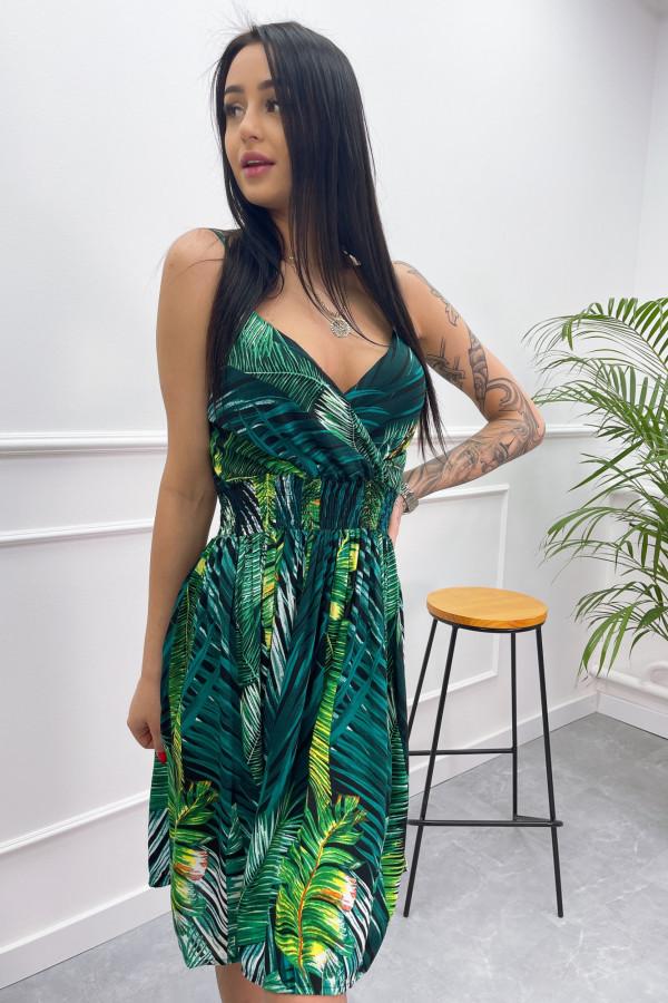 Sukienka LIŚCIE Miss Sara Short 9
