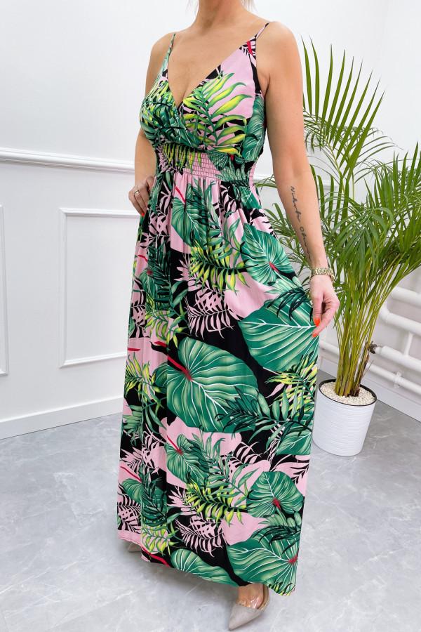 Sukienka LA PALMA Miss Sara Slim 7