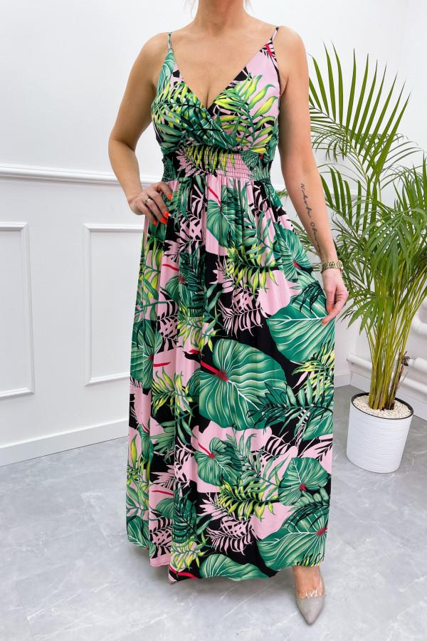Sukienka LA PALMA Miss Sara Slim 9