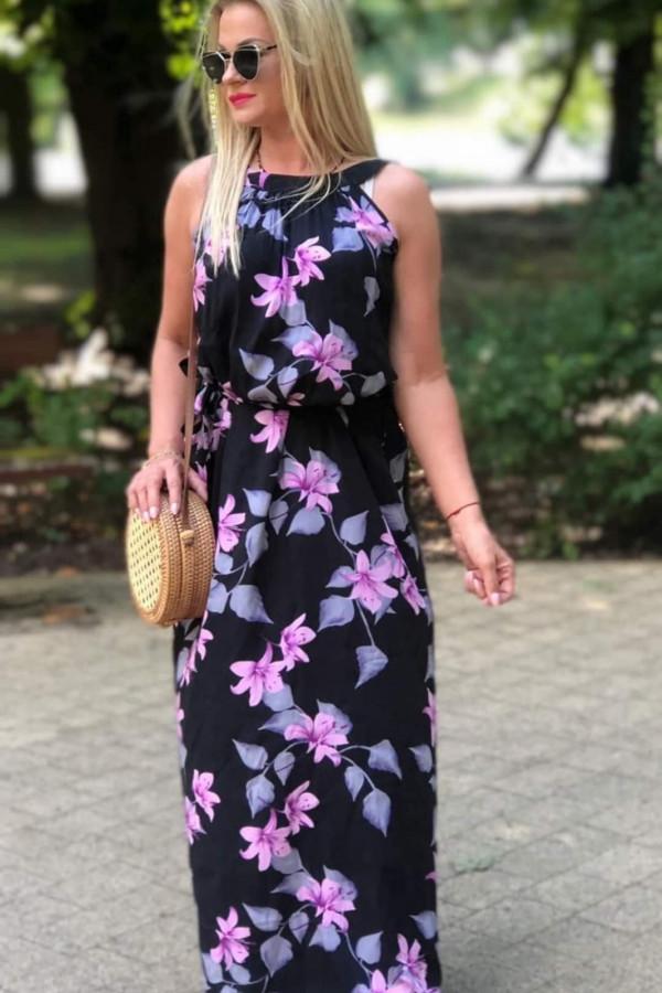 Sukienka VIOLET Miss Sara Maxi 4