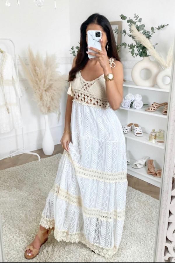 Sukienka SARDYNIA styl BOHO