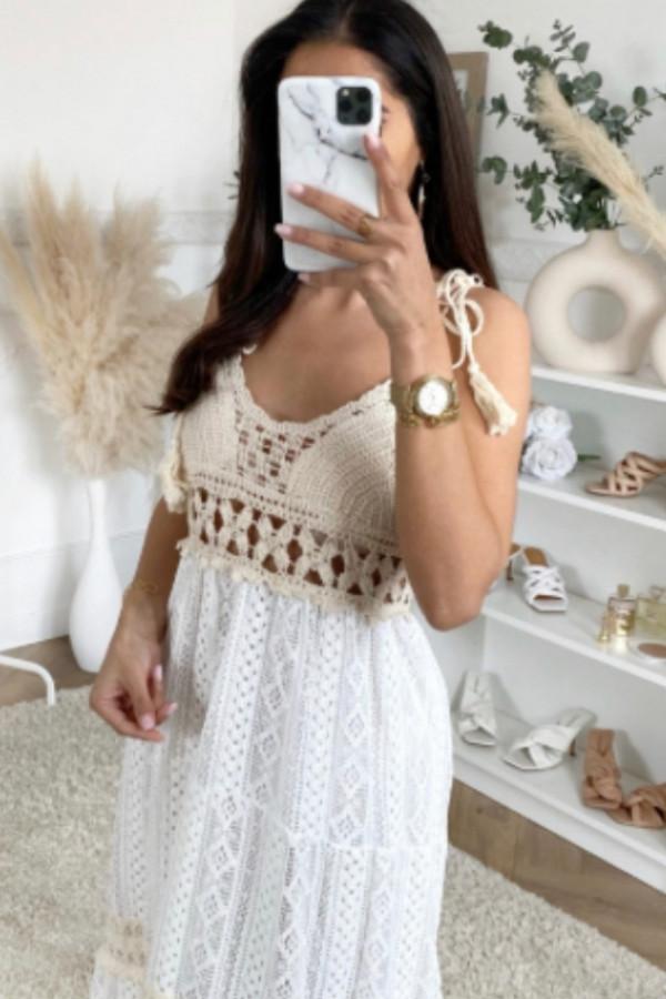 Sukienka SARDYNIA styl BOHO 6
