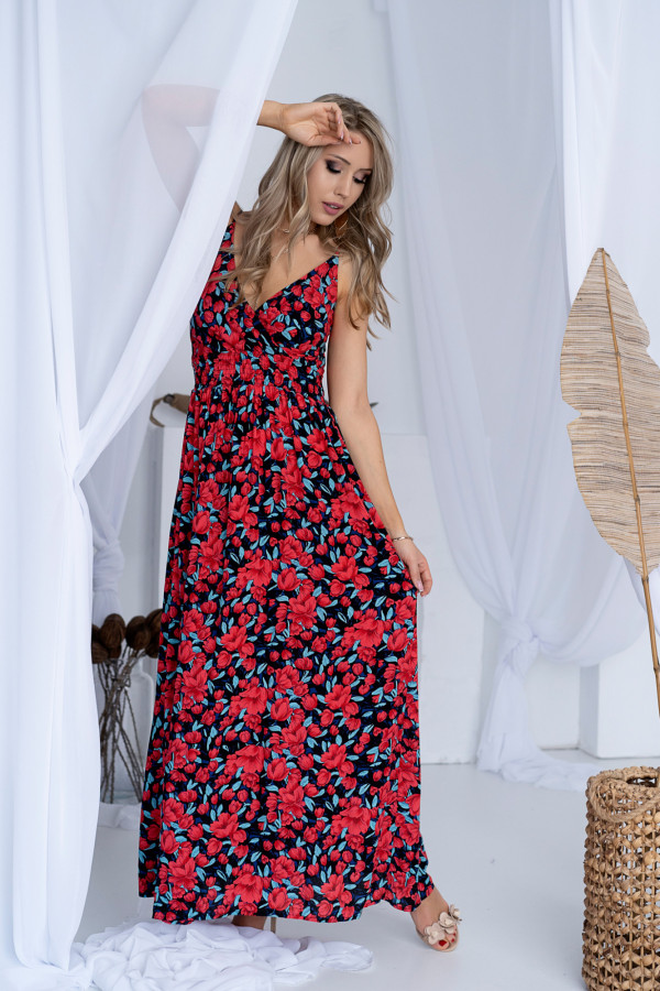 Sukienka MAKI Miss Sara Slim 15