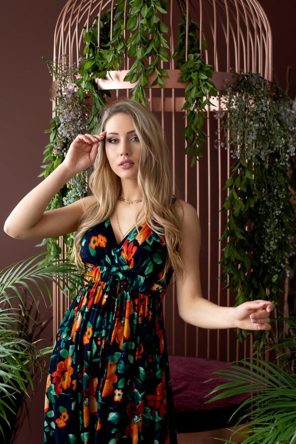 Sukienka BLACK LOVE Miss Sara Twine 4