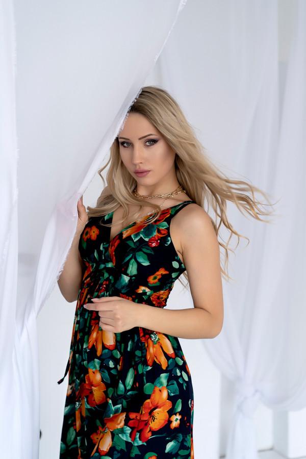 Sukienka BLACK LOVE Miss Sara Twine 8