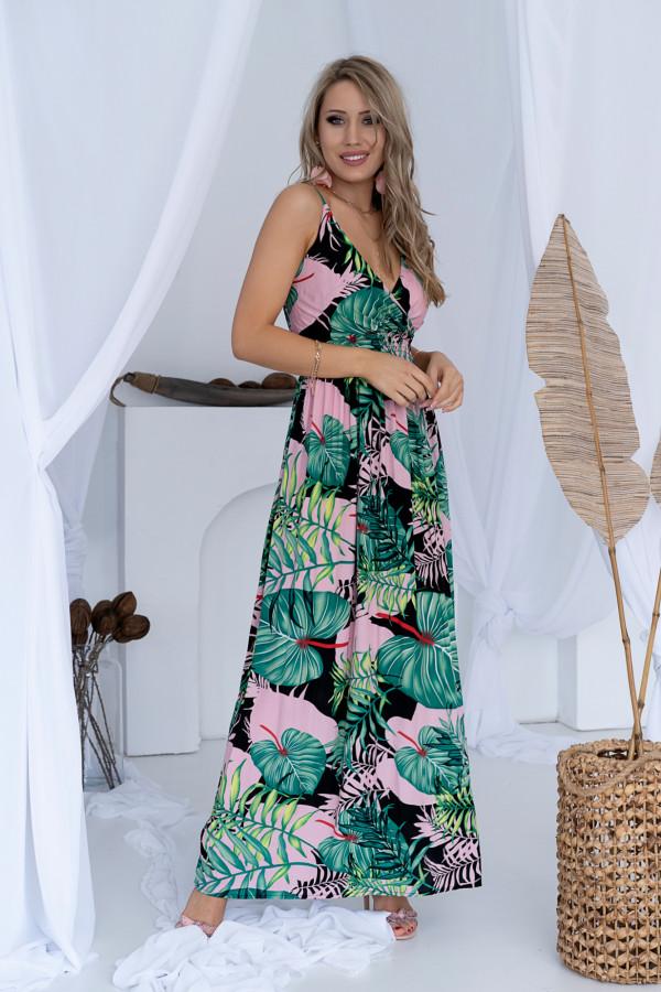 Sukienka LA PALMA Miss Sara Slim 2