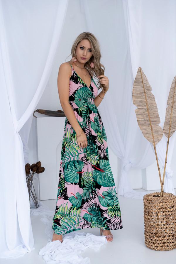 Sukienka LA PALMA Miss Sara Slim 5