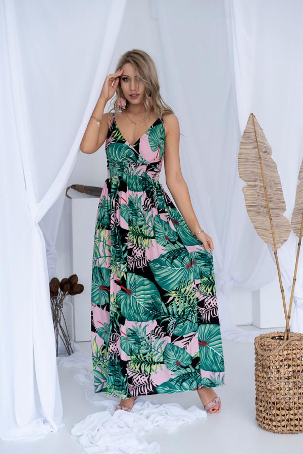 Sukienka LA PALMA Miss Sara Slim 3