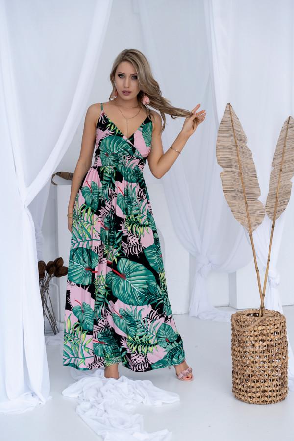 Sukienka LA PALMA Miss Sara Slim 4