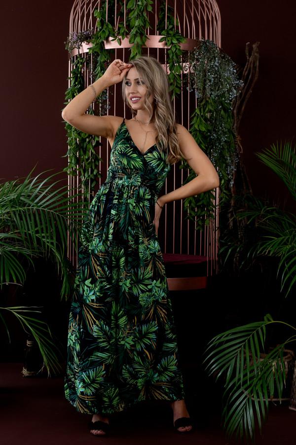 Sukienka HAWAII BLACK Miss Sara Slim