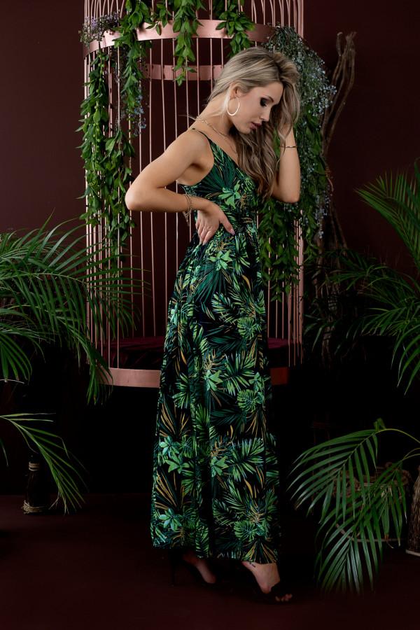 Sukienka HAWAII BLACK Miss Sara Slim 3