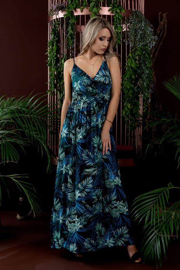 Sukienka HAWAII BLUE Miss Sara Slim 2