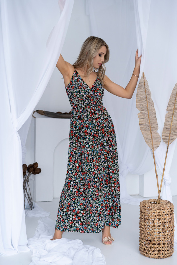 Sukienka ŁĄCZKA Miss Sara Slim 13