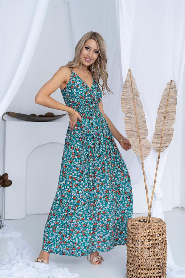 Sukienka ŁĄCZKA Miss Sara Slim 11